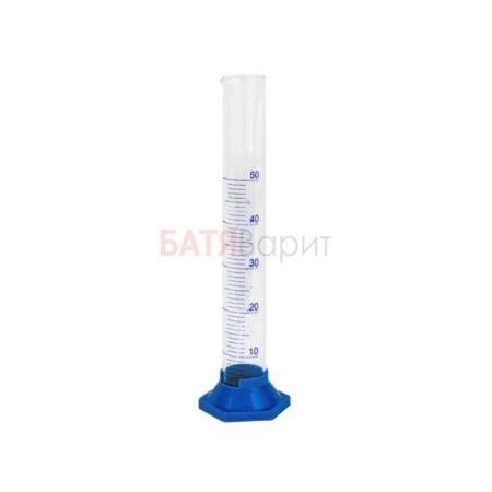 Цилиндр мерный 50мл, стекло