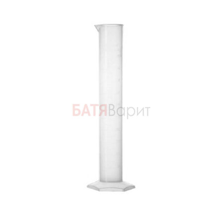 Цилиндр мерный 100мл пластик