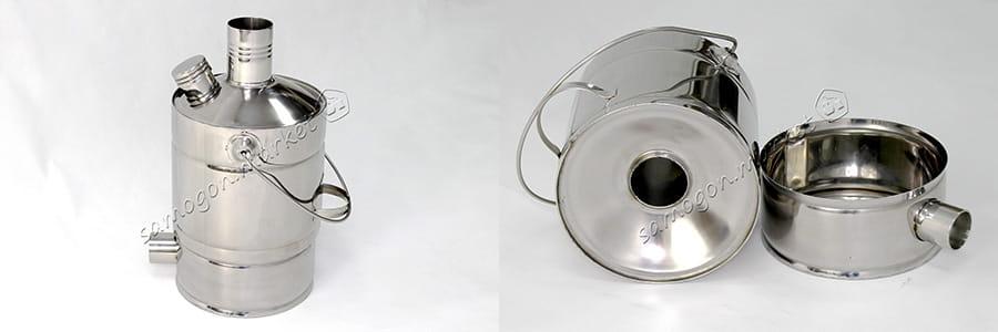 Чайник с жаровой трубой