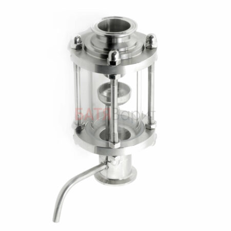 Диоптр 1,5 дюйма с узлом отбора по жидкости