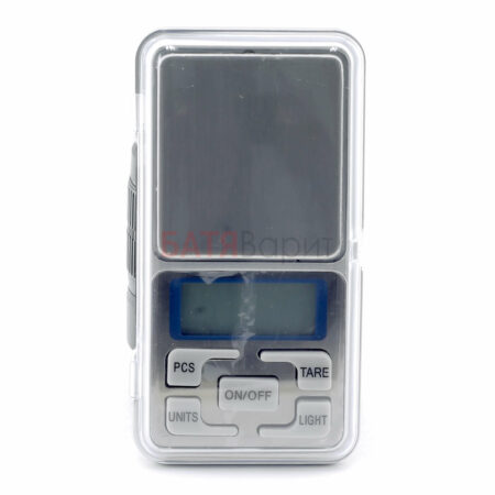Весы карманные электронные 200г, серебро