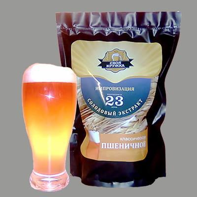 """Набор для приготовления пива неохмеленный """"Пшеничное классическое - Импровизация"""""""