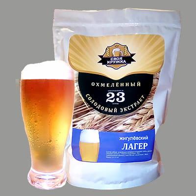 Жигулёвский ЛАГЕР, набор для приготовления пива