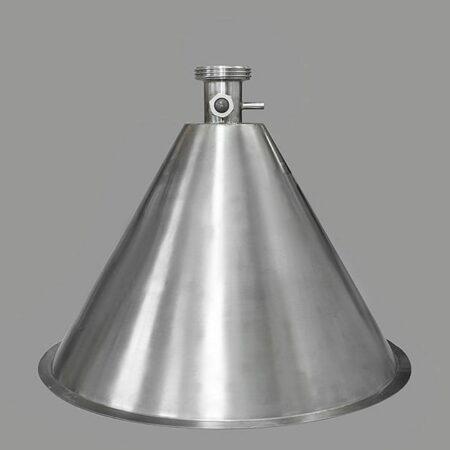 """Уценка Конусная крышка """"аламбик"""" разъем ХД/3 (Распродажа) - 300 мм."""