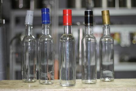 """Бутылка стеклянная 0,5 л. """"Гуала"""""""