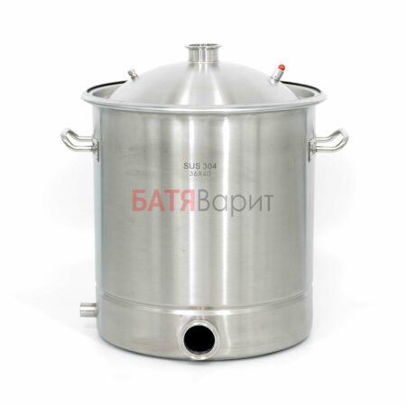 Перегонный куб SUS-304 40 литров (360*400 мм) + крышка 2 дюйма