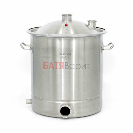 Перегонный куб SUS-304 40 литров (360*400 мм) + крышка 2 и 1,5 дюйма