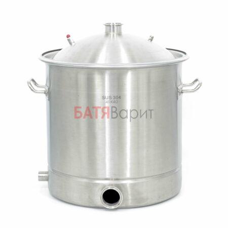 Перегонный куб SUS-304 50 литров (400*400 мм) + крышка 2 дюйма