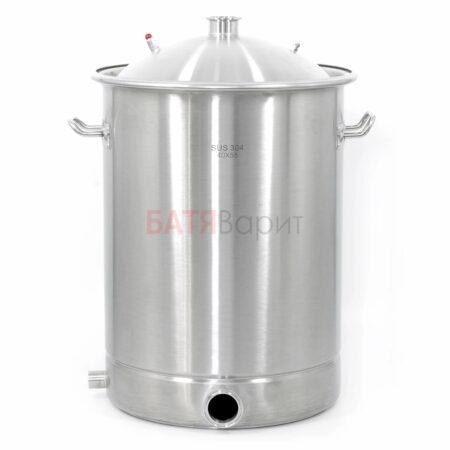 Перегонный куб SUS-304 70 литров (400*550 мм) + крышка 2 дюйма